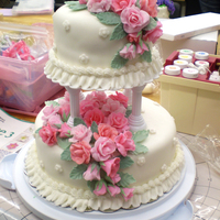 Two Tiered Final Cake For Course 3 This was my final cake project for course 3 and can be for any occasion such as wedding, bridal shower, or even anniversary as well. All...