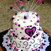 Tessa's 11Th Birthday A 12 persons cake, made for Tessa. She really loved it!