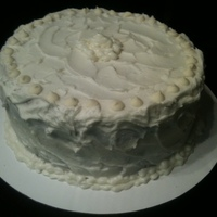 White Velvet Birthday Cake White Velvet Cake with white chocolate cream cheese icing