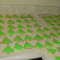 Christmas 2006 Cookies No fail sugar cookie recipe with royal icing for cookies recipe.