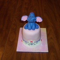 Heffalump/princess Mini Cake