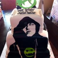 Chronicles Of Vladimir Tod Cake I was lucky enough to make the birthday cake for Heather Brewer, author of The Chronicles of Vladimir Tod, a series for young adults. It...