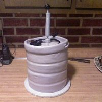 Keg Cake This keg was for my two cousins graduating from college and Culinary School. We figured a keg was the true thing both young men had in...