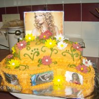 Taylor Swift Cake For a little girl who loves Taylor Swift