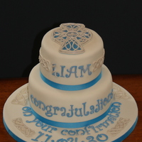 Celtic Confirmation Cake