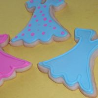 Dresses new cookies cutter, had to try it out-this is going to be a fun one!