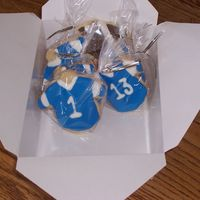 Football Jersey   tonight is my son's first game of the season-I made cookies with their numbers on the jerseys for when they watch films tomorrow-