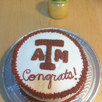 Congratulations Atm Cake All buttercream