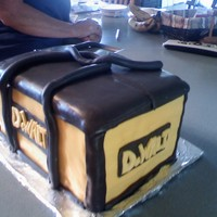 Dewalt Cake DeWalt toolbag cake for my brother in-law