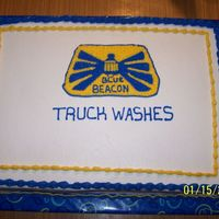 Company Cake A cake a did for a truck wash company here in town