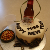 Red Neck New Years Made this just for fun from extra batter fron champagne cake. Just a good old red neck new years.