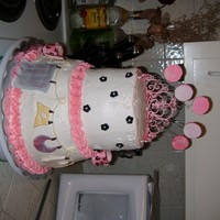 Pink Baby Shower Cake!