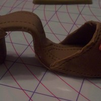 Shoe Out Of Fondant