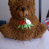 Bear Cake Chocolate Bear Cake