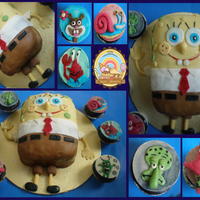 Spongebob Cake And Cupcakes I love spongebob. Inspired by all the great people on CC
