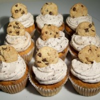 Chocolate Chip Cookie Cupcakes created for annual church picnic 29 August 2010