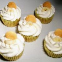 Banana Pudding Cupcakes created for annual church picnic 29 August 2010