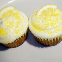 Lemonade Cupcakes created for annual church picnic 29 August 2010