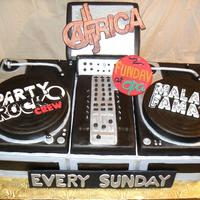 Dj Turn Table Set