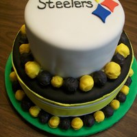 Steelers Superbowl Cake