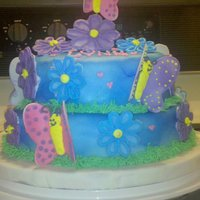 My Nieces 4Th Birthday Cake