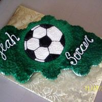 Soccer Cupcakes All buttercream.