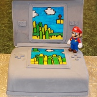 Nintendo Ds Mario   Birthday cake for a 3 yr old that loves Mario