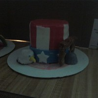 Patriotic 4Th Of July Cake