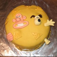 Wallace & Gromit Cake By Jason Cake made by my older brother for my birthday. Description is in the General Forum under Please Take A Look!
