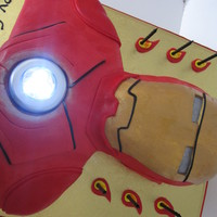 Ironman Found an LED light to pop in the front which looked great.