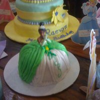 Personal Princess Tiana Cake This is a personal cake i did
