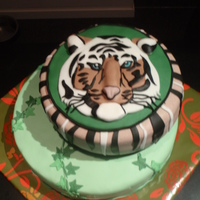 Tiger My tiger cake made for the birthday of mu son, Grrrrr......