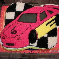 Race Car Race car I did for my nephew that was turning 6.