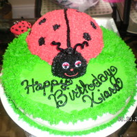 Lady Bug And Cupcakes