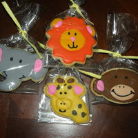 Jungle Animals   NFSC with Antonia's royal icing. Made for a jungle themed baby shower.