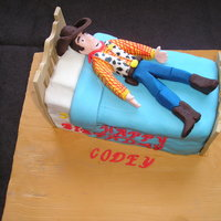 Woody, Toy Story I had a toy story cake to make and was hoping to do Buzz. The little boy however loved woody more. This is my first figure on a cake and...