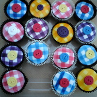 Gingham Cups