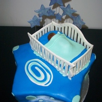 A Star Is Born Baby Shower Cake