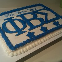 Phi Beta Sigma My Fraternity Cake