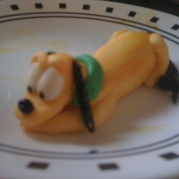 Pluto Pluto made to go on top of my Stepmothers birthday cake