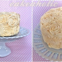 Another Rosette  I was just going to make a plain buttercream cake for a family get together, but I thought I would just give this ever popular technique a...