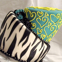 Zebra Stripe 13Th Birthday