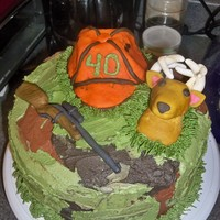 Hunting Birthday Cake this is a hunting themed cake I made for a friend of a friend