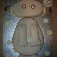 Makka Pakka Makka Pakka cake I made for my sons 2nd birthday