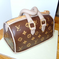Handbag Cake My attempt at a handbag cake. Browsed many photos on here for inspiration!!