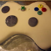 X Box Controller This was my first shaped cake, I think I did a decent job :)