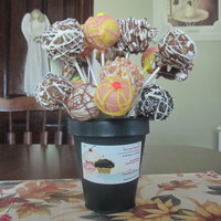 Lollicakes  Lollicakes are filled with red velvet cake mixed with fresh whipped cream. Outside is dipped in wilbur's chocolate. Some have...