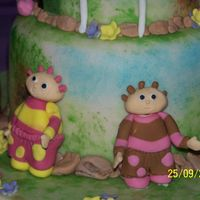 In The Night Garden/ Toombly Boo's  these are my toombley boos from in the night garden :) all handmade with RTR icing from my daughters bday cake :) thanks for looking and...