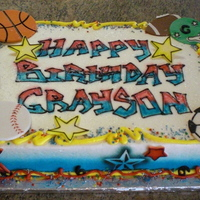 Boy Birthday Cake