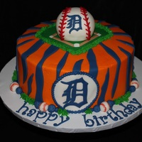 Detroit Tigers Birthday